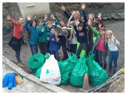 Mulberry School Cleanup